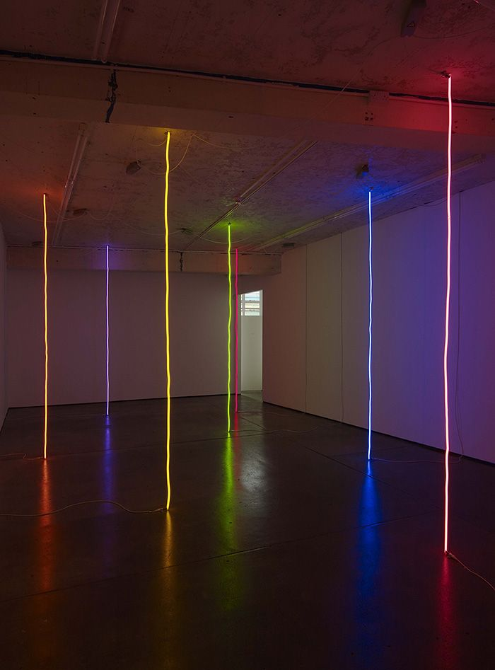 Peter coffin untitled lines 2011 39 39 the dark side for Neon artiste contemporain