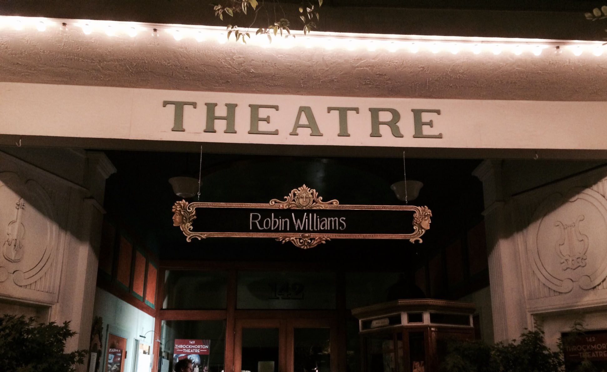 Robin Williams in Marin: The Man on the Bicycle