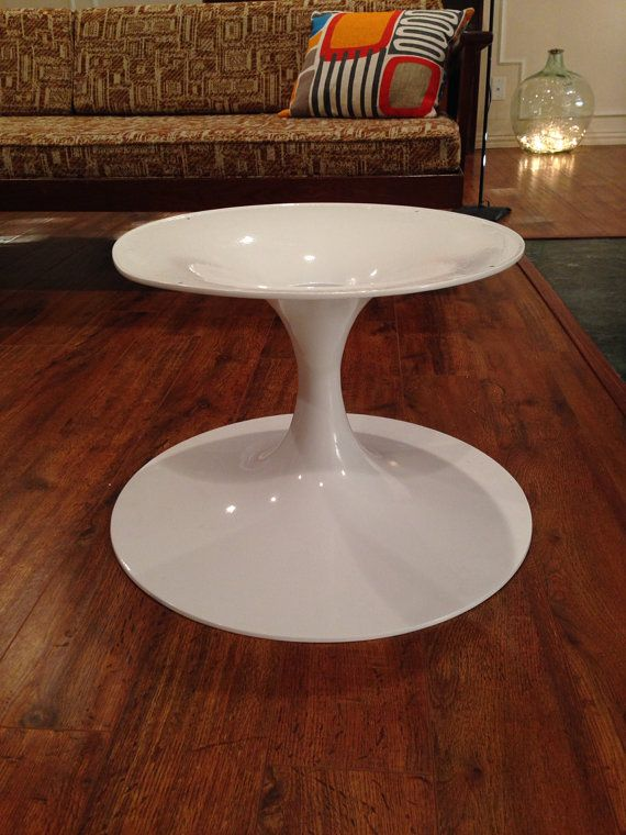 Early Version Of A Knoll Eero Saarinen Tulip Coffee Table Base Only