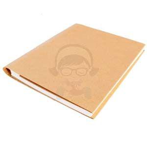 Mini Album Scrapbooking Kraft 17x20,5cms con 100 hojas - Mini Album Scrapbooking Kraft 17x20,5cms con 100 hojas