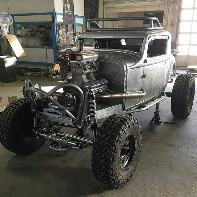 Build A Truck Ford: 32' Ford 3 Window Coupe Nux's Car Replica Custom Build