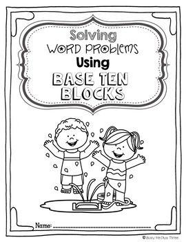 Solving Word Problems Using Base Ten Blocks (Double Digit