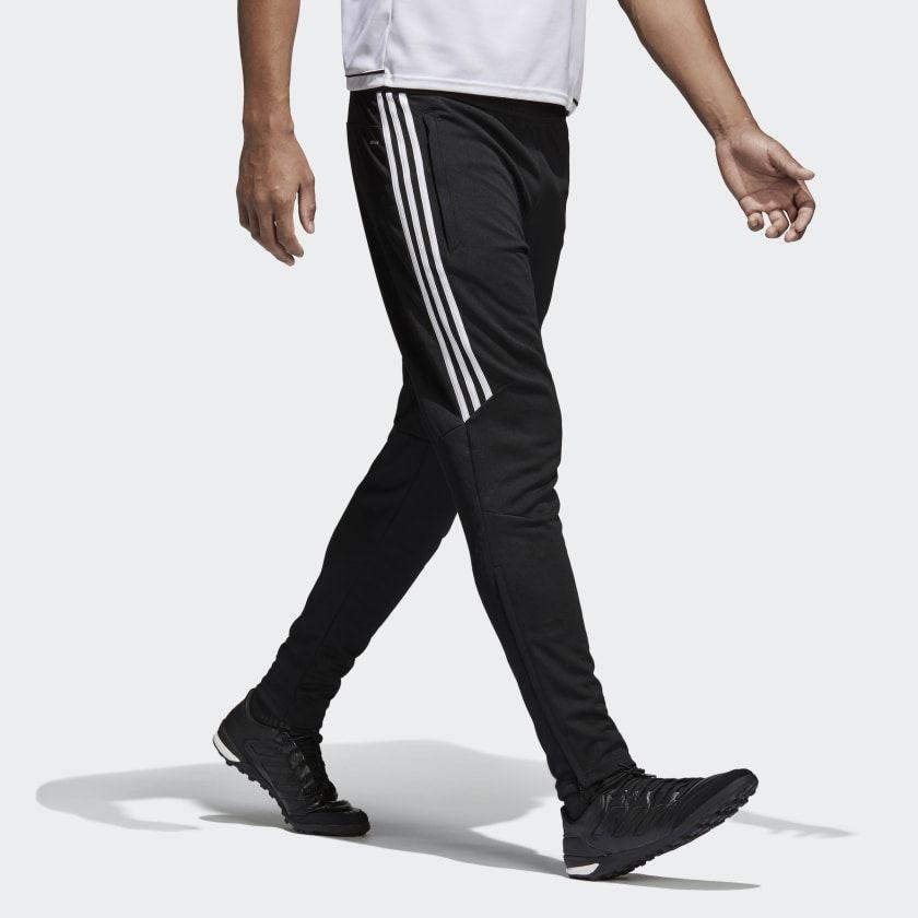 Adidas Tiro 17 training pants mens black white BS3693 Athletic Men/'s New