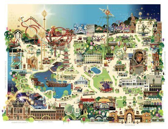 kart over tivoli københavn Kart over tivoli københavn | københavn | Pinterest kart over tivoli københavn