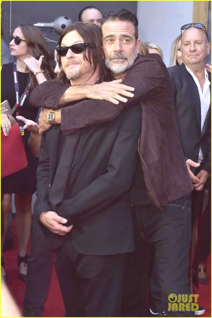 Norman Reedus Andrew Lincoln  The Walking Dead Cast Celebrate 100th Episode You can find Lincoln