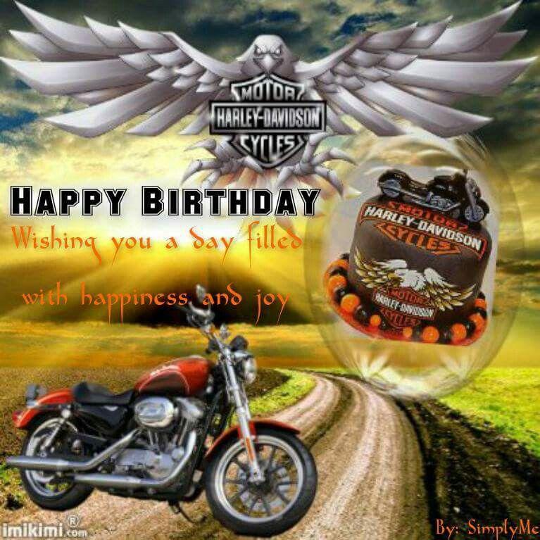 Happy Birthday Happy Birthday Harley Davidson Happy Birthday Messages Harley Davidson