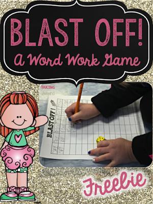 Word Work Fun with Blast Off! Word work fun, Word work
