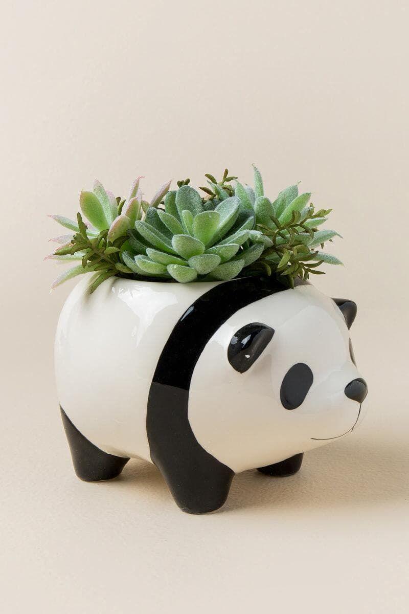 hight resolution of panda planter