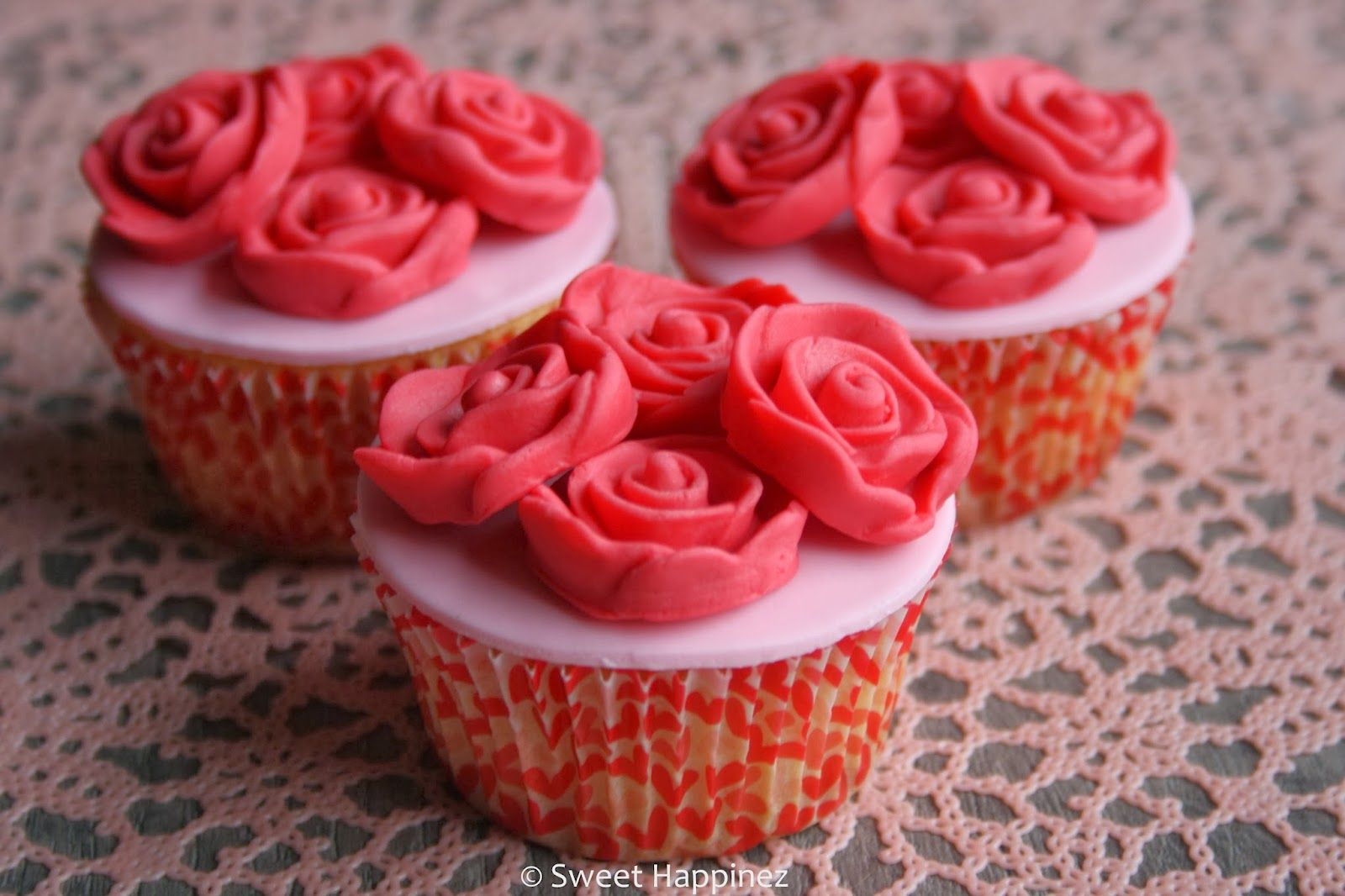 Rose Cupcakes - How To