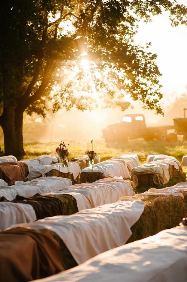 Love This Idea For A Farm Wedding.