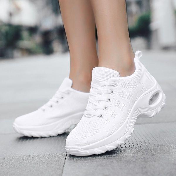 Women S Walking Shoes Casual Sneakers Mesh Air Cushion Running Shoes Lady Girls Platform Shoes Eu 35 42 Wish In 2020 Casual Shoes Women Walking Shoes Women Women Shoes