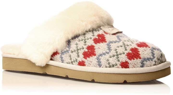 Ugg Cozy Knit Heart Slippersan Exemplary Choice To Keep Your Feet