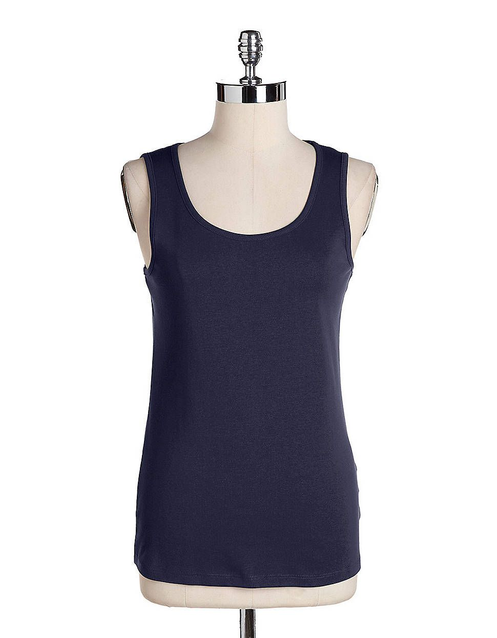 Cotton Tank Top | Lord and Taylor $20