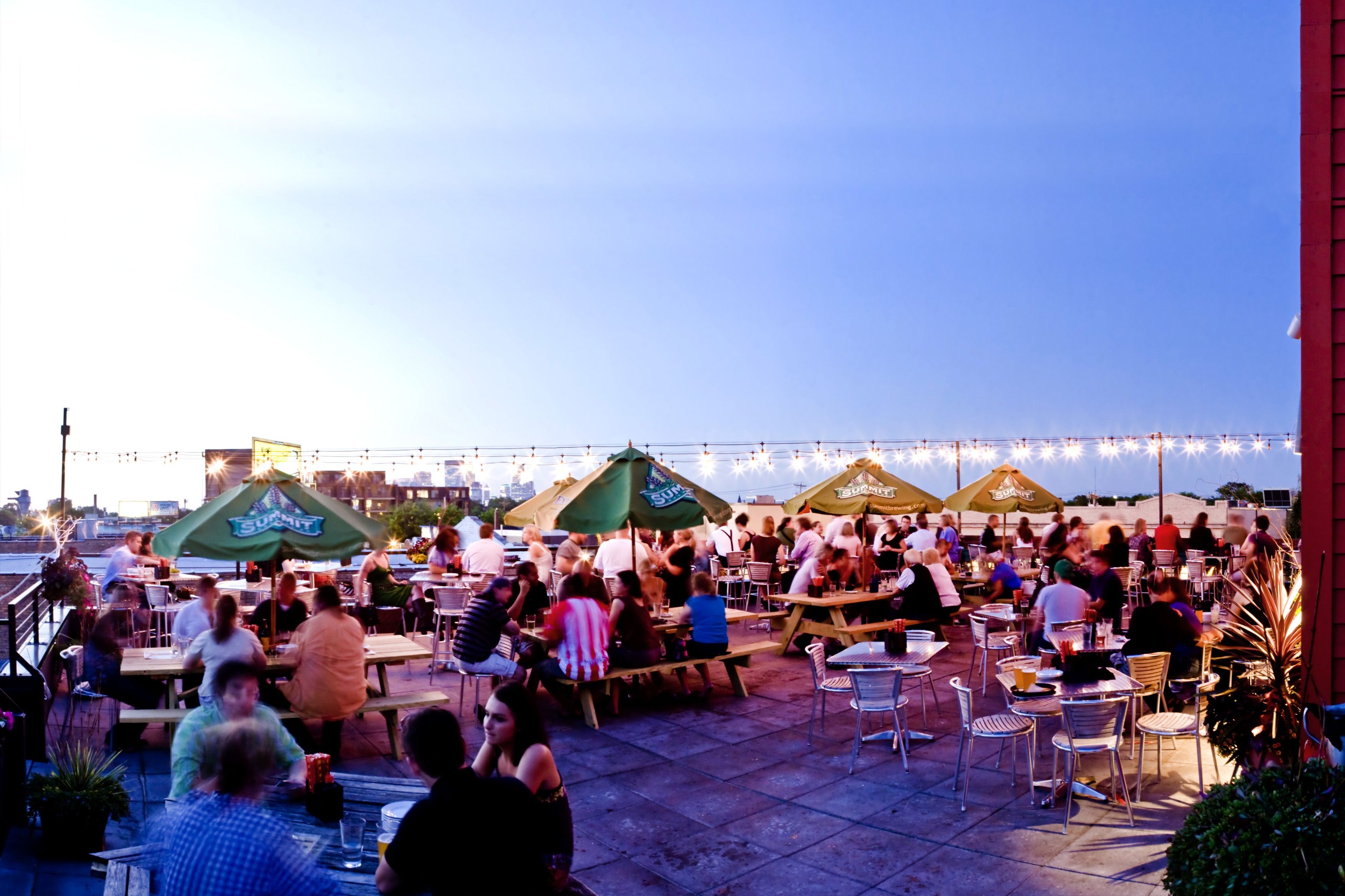 Rooftop patio at our partner moto-i in Uptown Minneapolis, MN | our ...