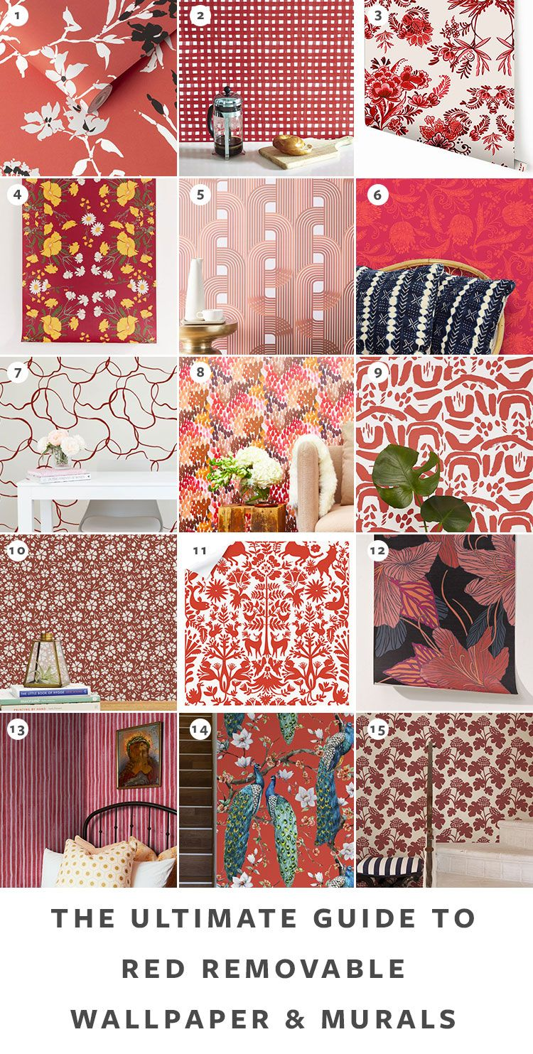 The Ultimate Guide To Removable Wallpaper The Best Patterns Temporary Wallpaper Removable Wallpaper Wallpaper