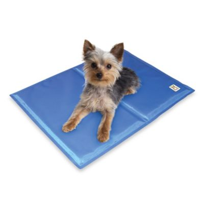 Chillz Comfort Cooling Gel Pet Pad Bedbathandbeyond Com Pet Pads Pet Mat Dog Mat