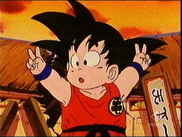 Kid Goku Peace Anime Dragon Ball Dragon Ball Kid Goku