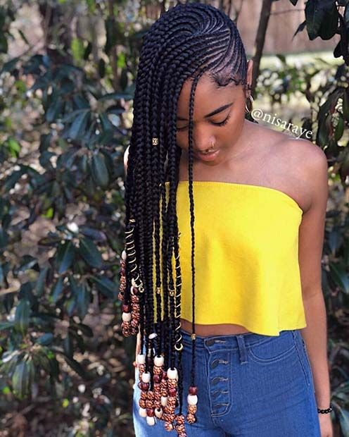 43 Trendy Ways to Rock African Braids | StayGlam