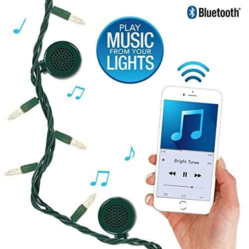 Bluetooth Speaker String Lights Bright Tunes Decorative String Lights With Bluetooth Speakers