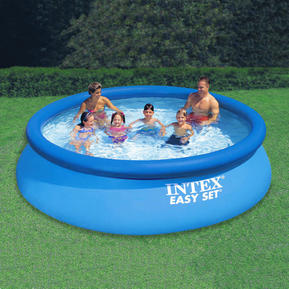 Intex 12 X 30 Easy Set Pool With Filter Pump In 2020 Easy Set