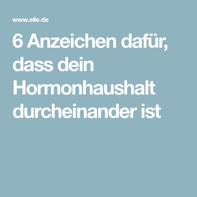 6 Anzeichen dafür, dass dein Hormonhaushalt durcheinander ist
