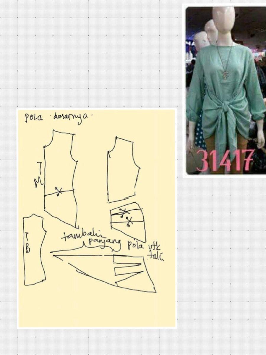 Kebaya | BLUSAS MANGA CORTA | Pinterest | Patrones, Blusas y Costura