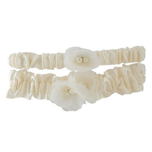 Cathy's Concepts Delicate Flower Wedding Garter in Ivory by Cathy's Concepts, http://www.amazon.com/dp/B007JOGTNC/ref=cm_sw_r_pi_dp_YkWaqb0TWW1KH