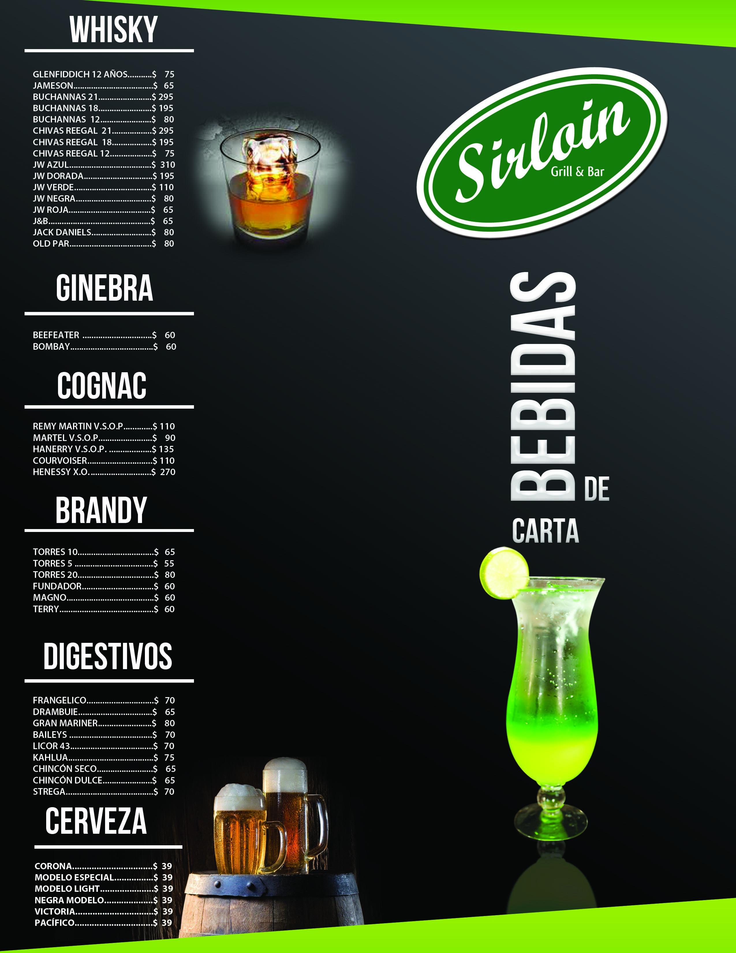 Diseo De Carta De Bebidas Drink Menu Design  Menu