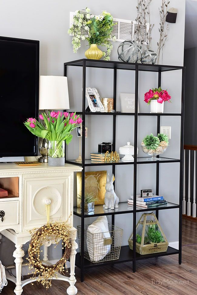 Transition to Spring Family Room Decor in 2020 Family