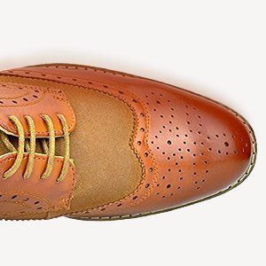 0a6f103d83282 Amazon.com | Bruno Marc Men's Prince Leather Lined Wing-Tip Dress Oxfords  Shoes | Oxfords