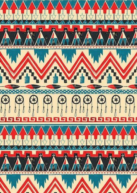 Phone Wallpaper Ideas Tribal Inspired Print Www Flickr Com Pattern Wallpaper Print Patterns Pattern Art