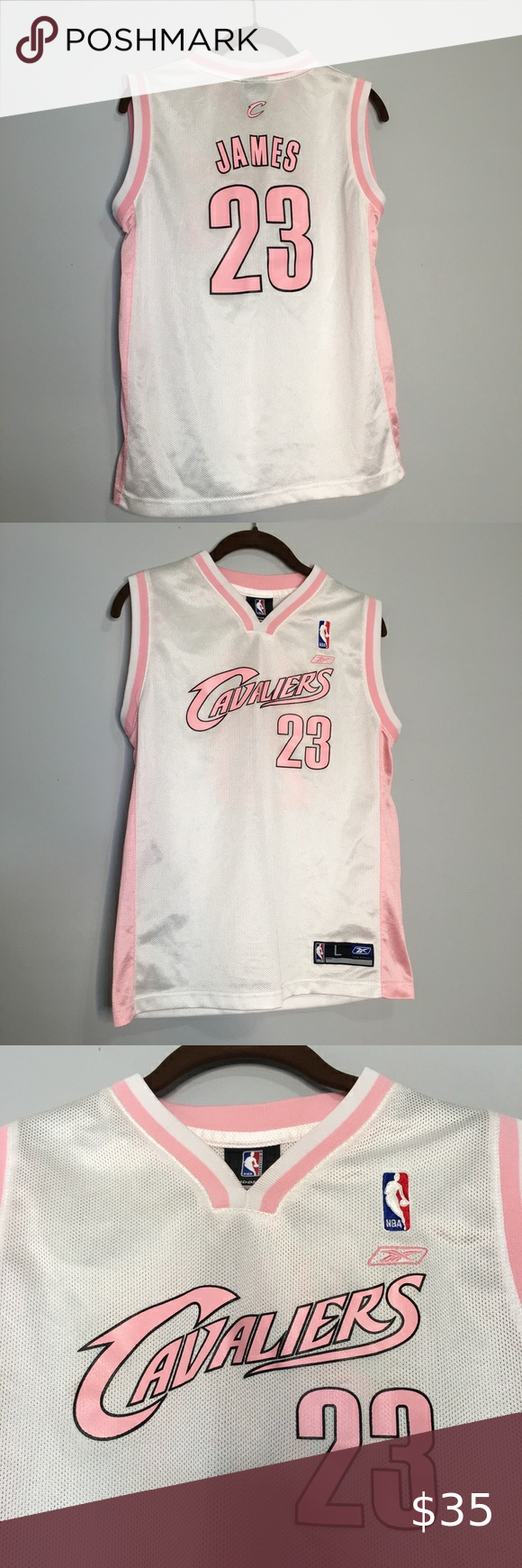 james pink jersey