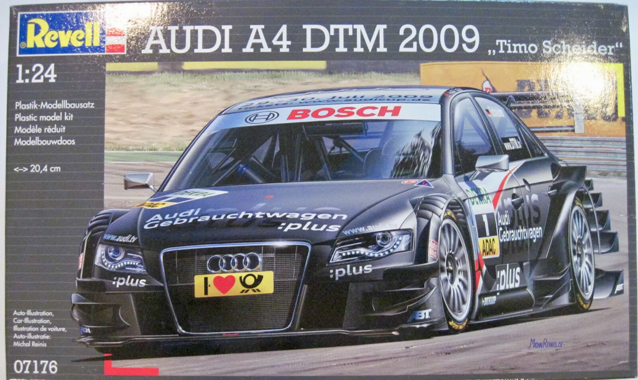 Pin By Tim On Model Kit Boxes Revell Audi Audi A4 Racing