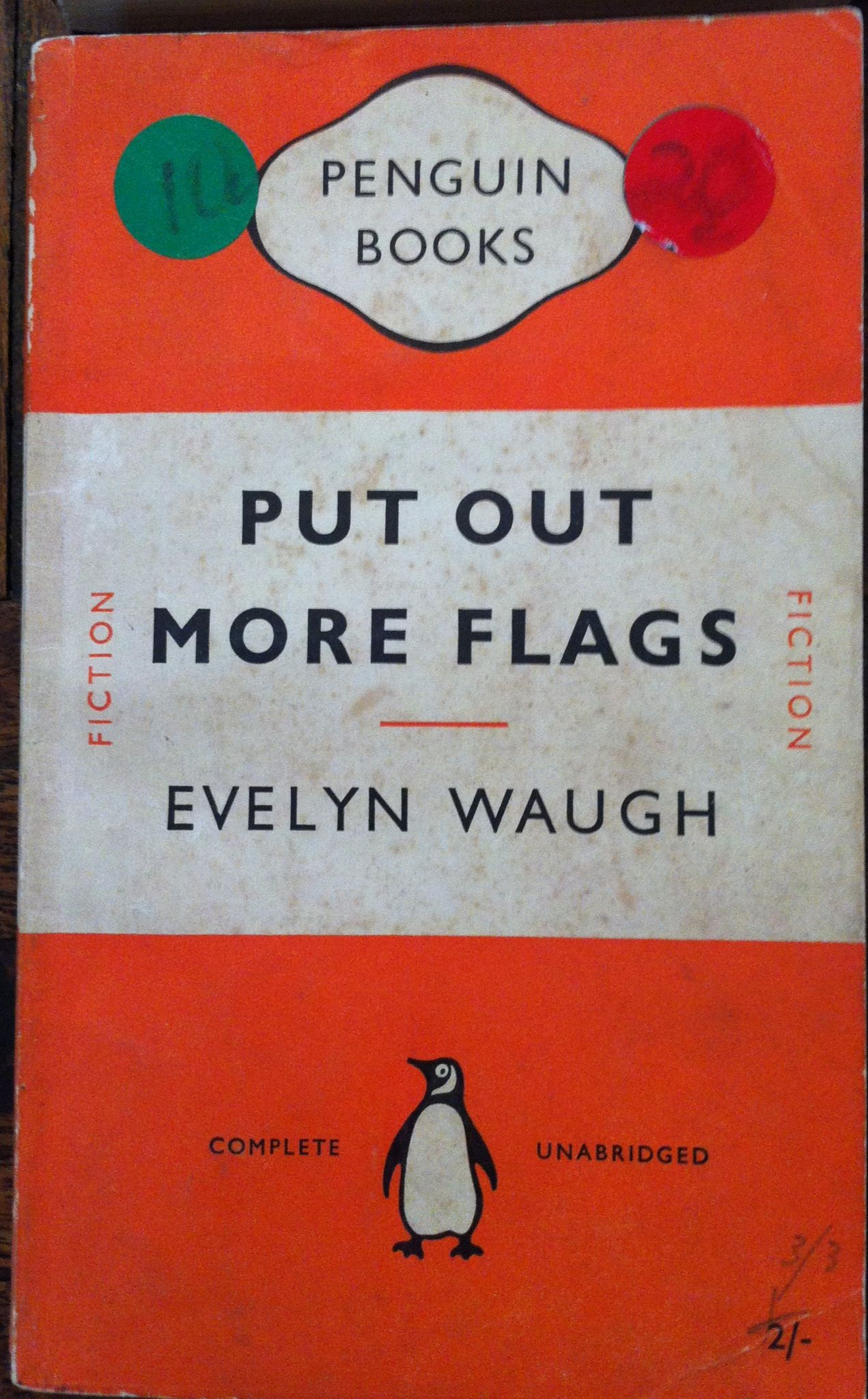 Vintage Penguin Book Covers ~ Evelyn waugh original hipster inspiration pinterest