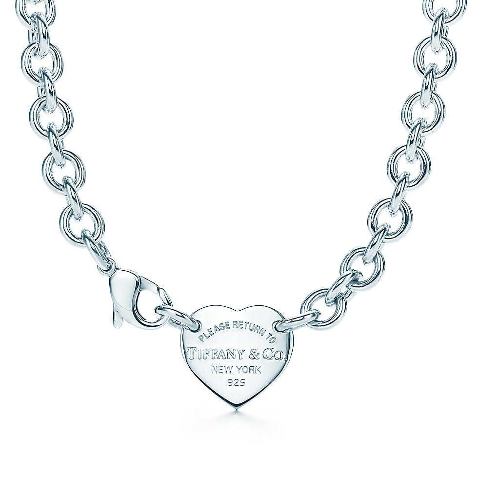 Heart Tag Choker Chokers Tiffany Jewelry