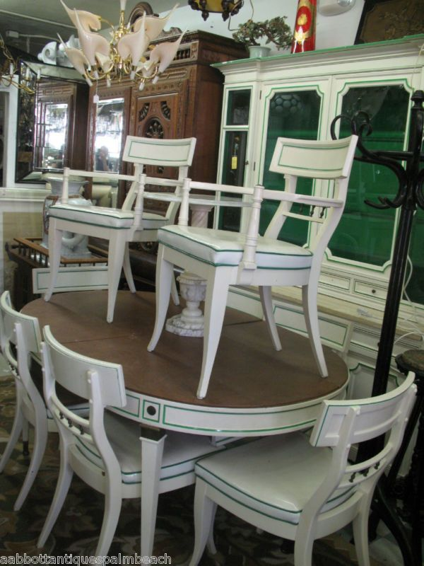 Charmant Hollywood Regency Style Furniture | 1940 HOLLYWOOD REGENCY DINING SET