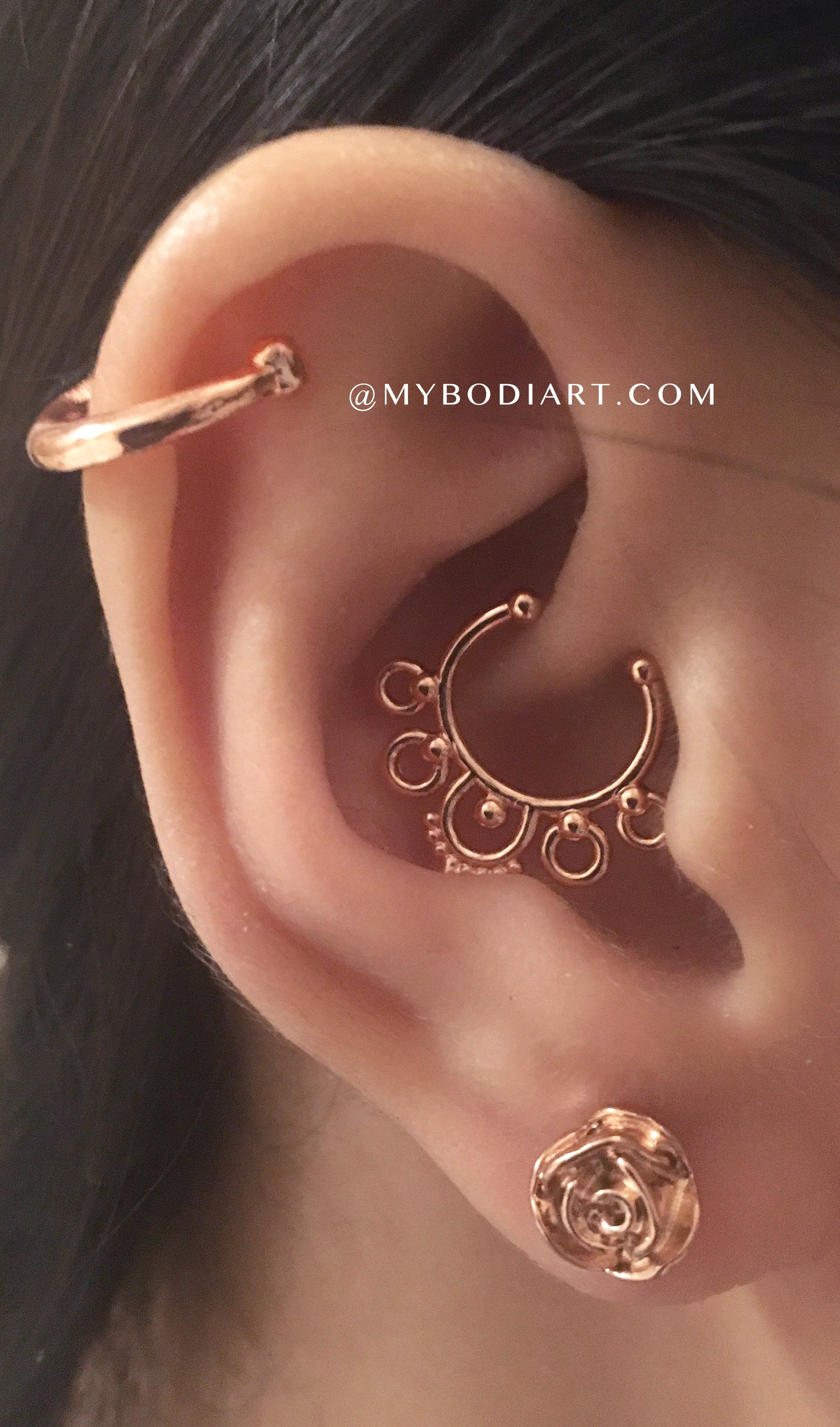 Nose piercing 6mm  Hannah Rose G Barbell Ear Piercing Earring  Products  Pinterest