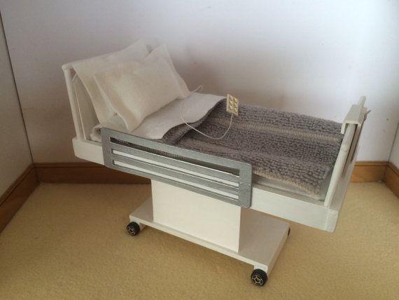Hey, I found this really awesome Etsy listing at https://www.etsy.com/listing/252402370/dollshouse-handmade-hospital-bed-112th