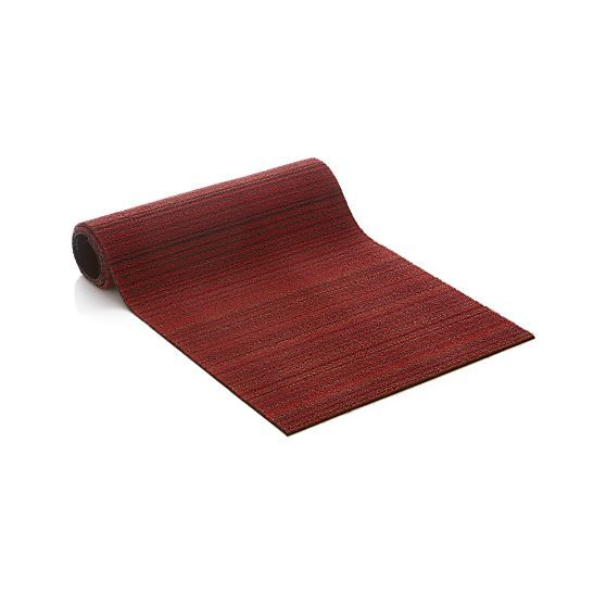 Chilewich Red 24 X72 Runner Doormat In Floor Runners Crate And Barrel Outside On Deck With Images Door Mat Crate And Barrel Rug Runners
