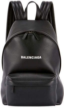 Photo of Balenciaga Everyday Large Baltimore Leather Backpack