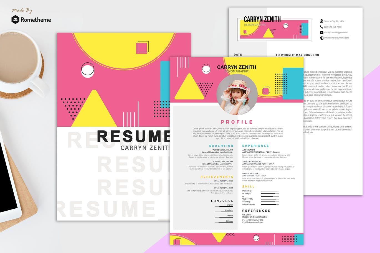 Clean resume vol 27 hr by rometheme on clean resume
