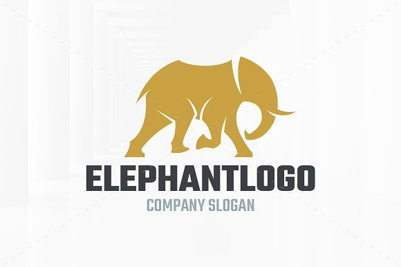dd893381d1921b Elephant Logo Template by LiveAtTheBBQ on  creativemarket