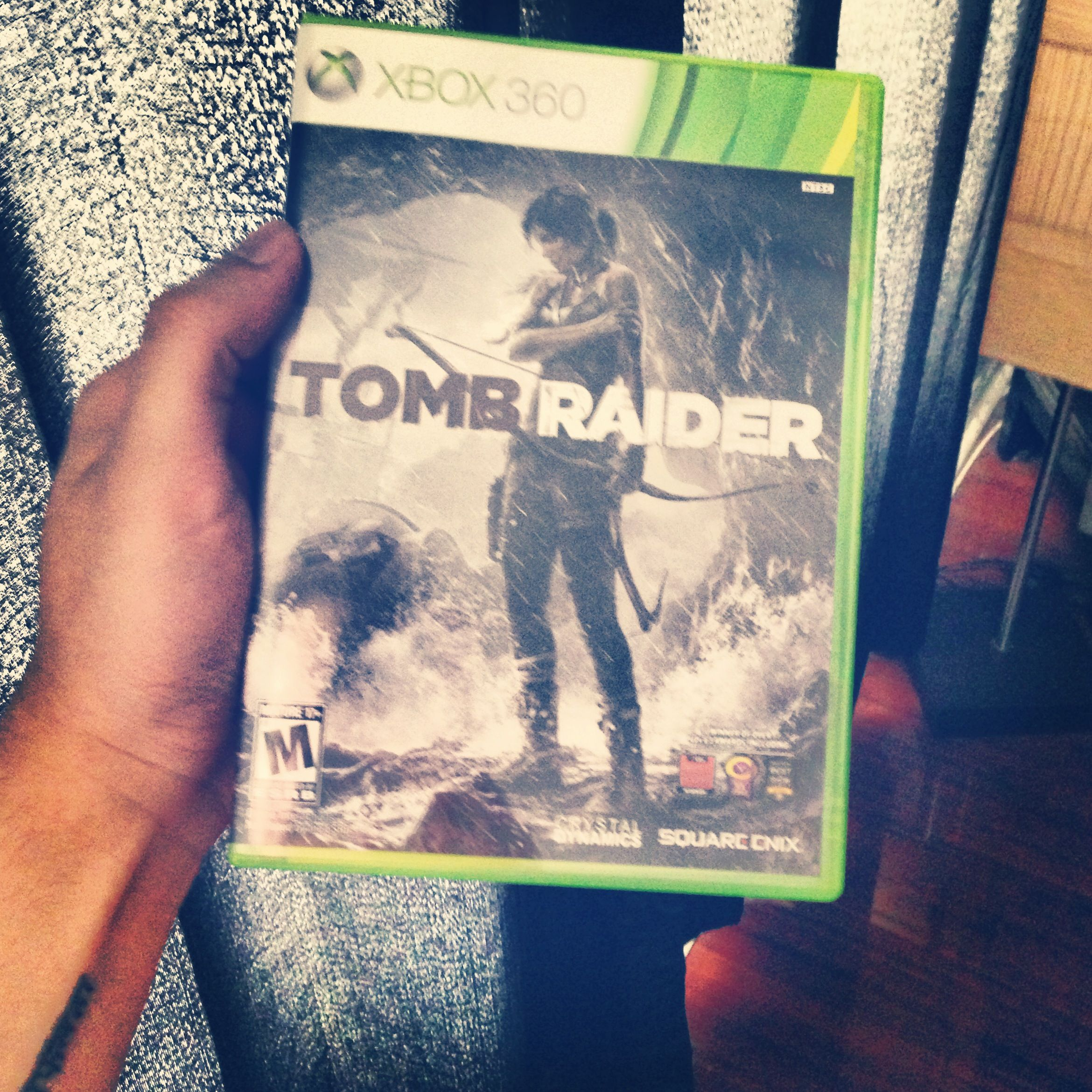 Going to be playing this alllll dayyy. :D  #TombRaider
