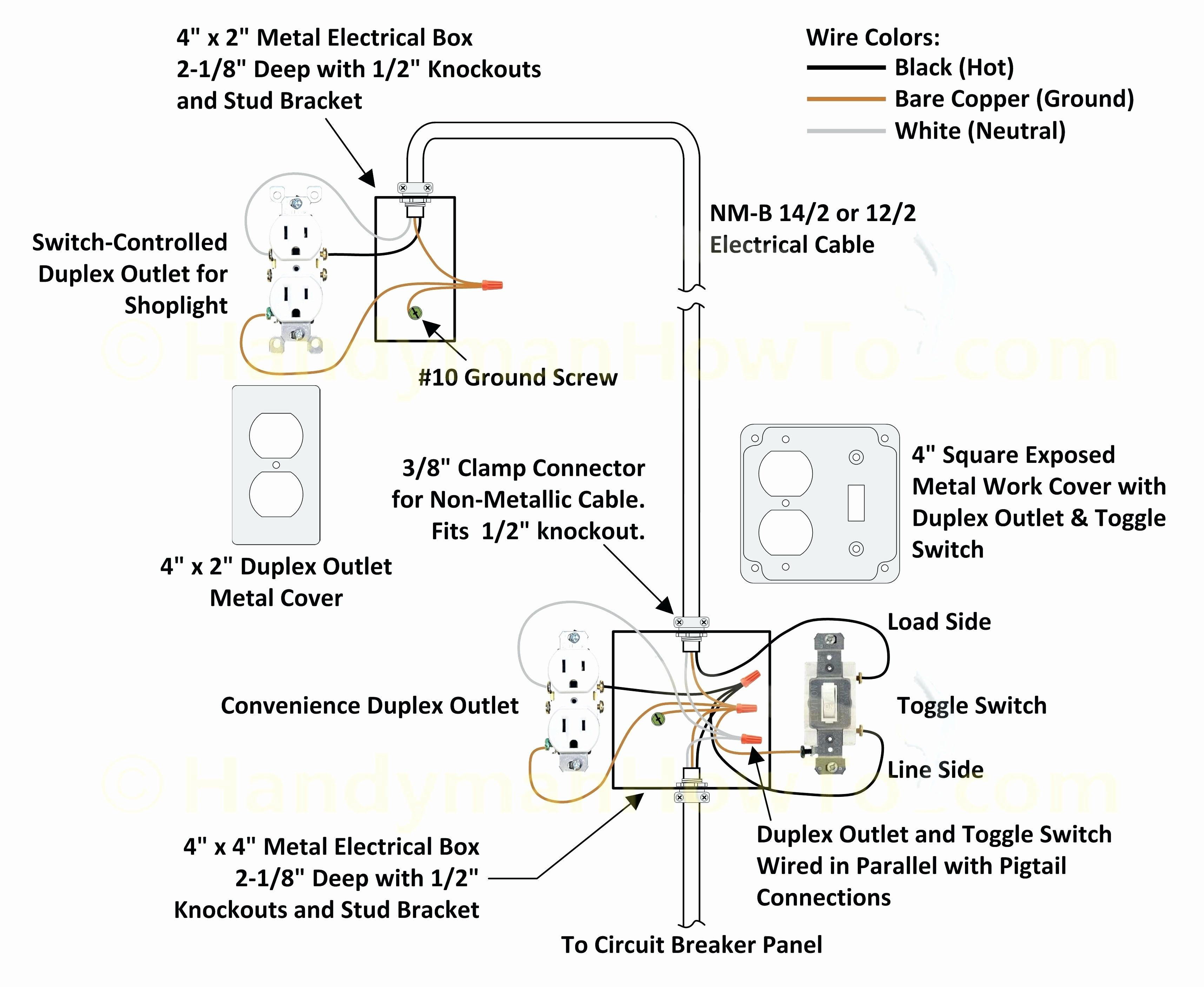 New Wiring Gfci to Switch Diagram #diagram #diagramsample #diagramtemplate # wiringdiagram #diagramchart #w… | Metal electrical box, Three way switch,  Ceiling lights | X 10 3 Way Switch Wiring Diagram |  | Pinterest