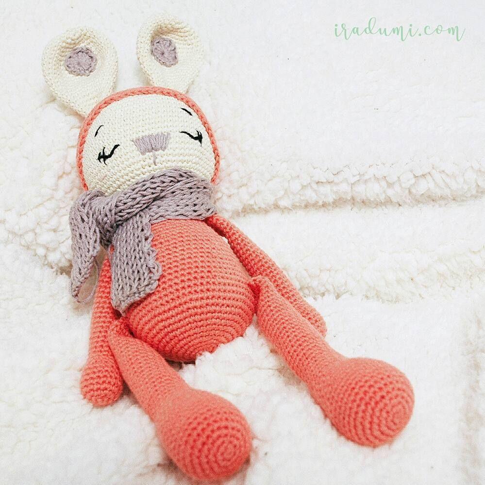 Zoe Amigurumi muñeco conejo. Amalou. IRADUMI | Amigurumi | Pinterest ...