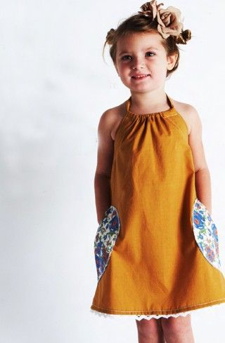 A more likable version of the pillowcase dress... Girl Clothes Pinterest Handmade clothes ...