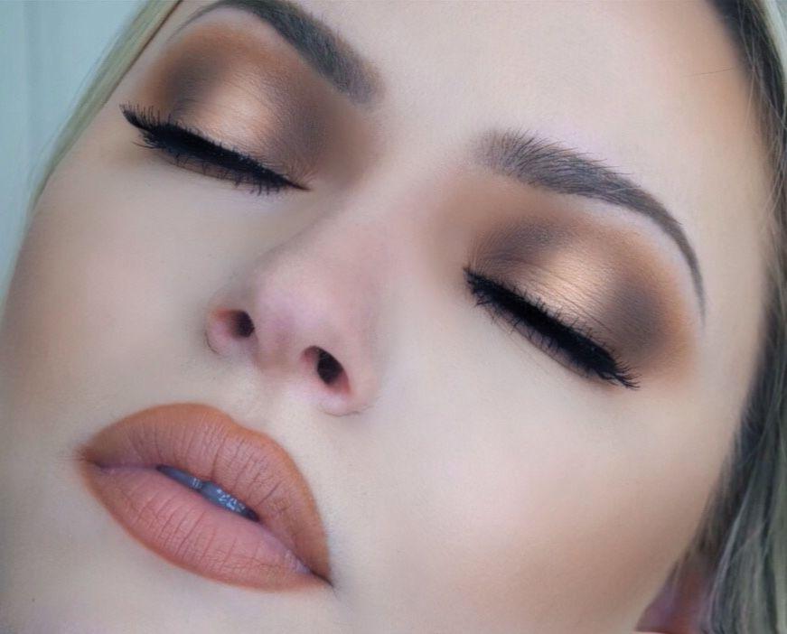 Makeup Look Smokey Eye Smokey Eyes Pink Lips Cat Eye Black