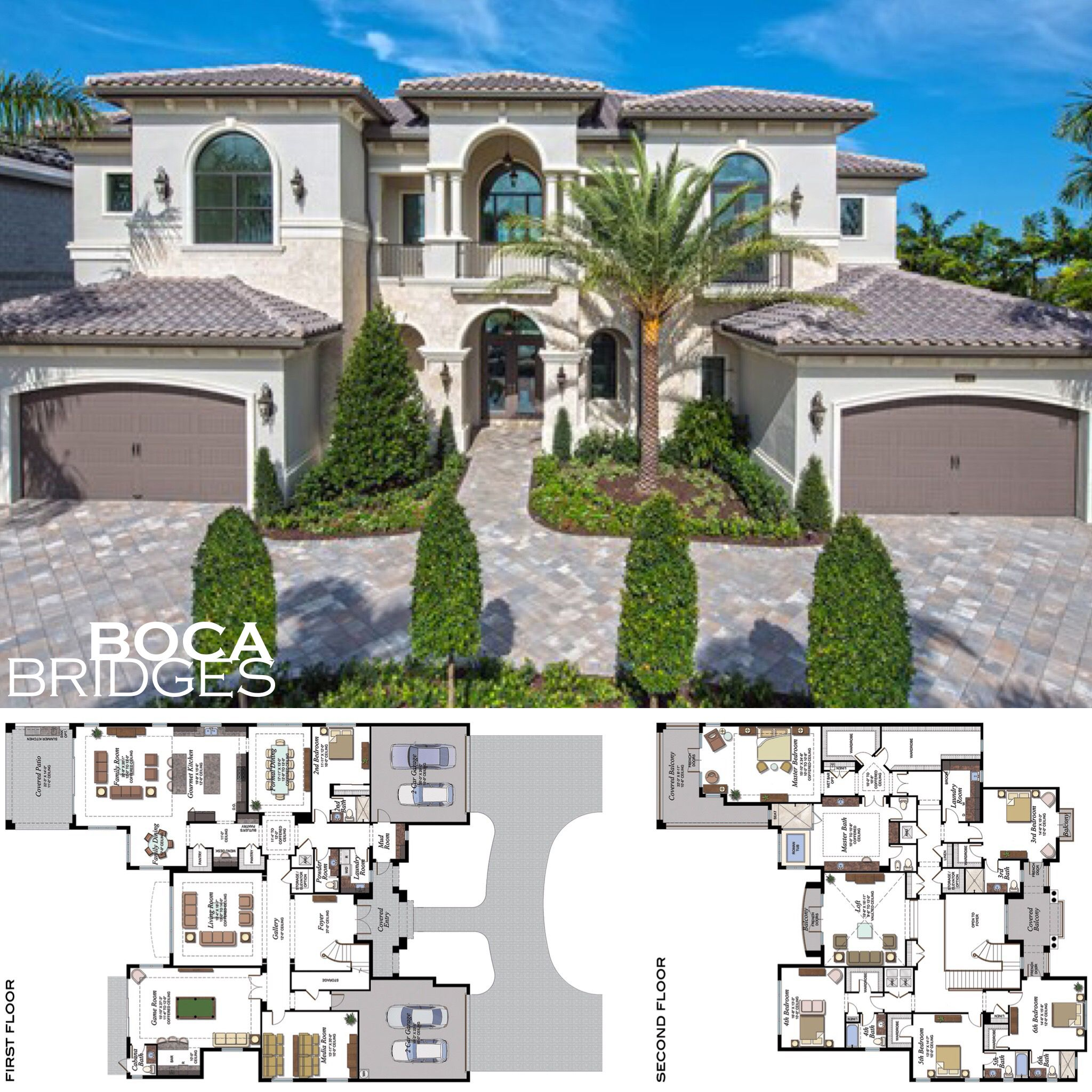 Home Sweet Home Palazzo Modelhome At Bocabridges Check Out Glhomes Website For More Info House Plans Mansion Luxury House Plans Beautiful House Plans