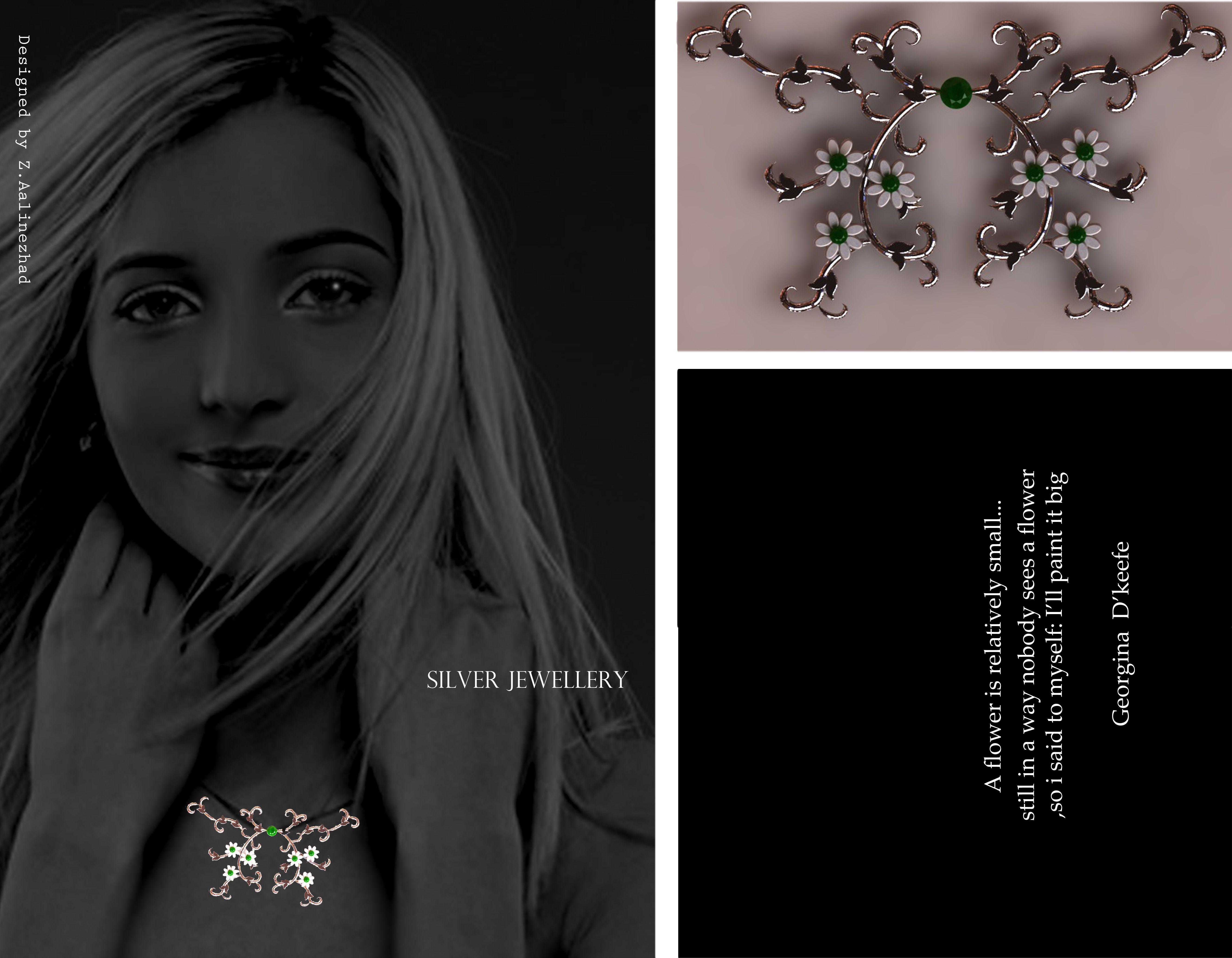 silver  jewellery design