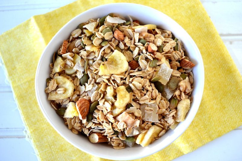 Homemade Granola - A sweet and salty healthy snack